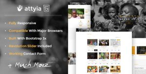 Attyia Charity WordPress Theme