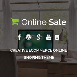 Online Sale Online Shopping WordPress Theme