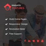Graduates WordPress Theme