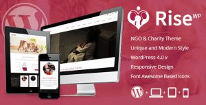 Rise NGO & Charity WordPress Theme