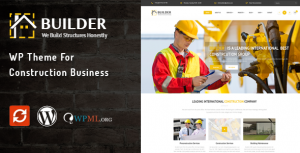 Builder WordPress Theme For Building & Construction