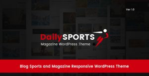 DailySports – Blog Sports and Magazine Responsive WordPress Theme